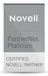 Platinum Certified Novell Partner